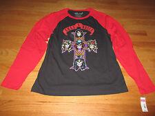 Repro 2014 (GNR) GUNS N' ROSES (MED) Baseball Jersey Shirt w/ Tags SLASH AXEL