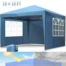 10'x 10' Canopy Gazebo Tent Shelter Garden Lawn Patio Wedding Outdoor Waterproof