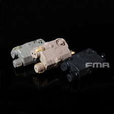 FMA PEQ 15 Battery Case + Green Laser BK/DE/FG