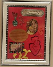 Mother Child-Framed Art-Whistler's Mother 3 cent stamp-Collectible-Free Ship