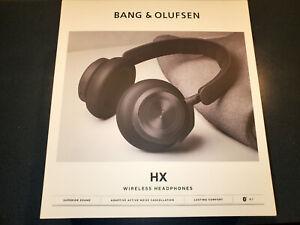 Latest Model Bang & Olufsen Beoplay HX Box - Black Anthracite - NO HEADPHONE!!!