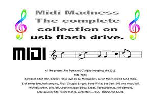 TYROS 5 USB FLASH DRIVE Midi Collection new for 2020