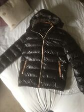 A Lovely Mens Black Shiny Bubble Jacket Size M From Vogue New Style Fashion