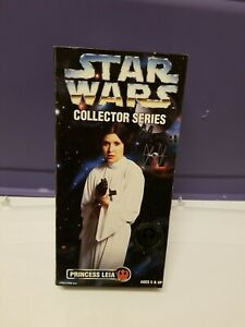 """* Star Wars 12"""" Leia Collector Series Kenner NEW IN BOX Sealed Action Figure"""