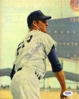 Don Drysdale Psa Dna Coa Hand Signed 1960`s 8x10 Photo  Authentic Autograph
