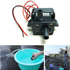 DC12V 3m 240L/H Ultra Quiet Brushless Motor Submersible Pool Water Pump Solar AU