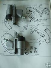 (x2) TRIUMPH GT6 Mk3 (Late)   REAR BRAKE WHEEL CYLINDERS  (** Aprox 1972- 74 **)