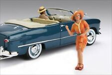 1950'S FIGURE PATRICIA FOR 1:18 SCALE DIECAST MODEL CARS AMERICAN DIORAMA 77725