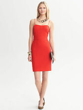 Brand NEW Banana Republic Piped Corset Dress Color Red
