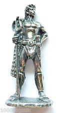 Roman Gladiator Warrior Retarius - Solid Pewter *