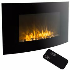1500 WATT Electric Fire Place Wall Mounted Heater W/ Remote Control Fireplace