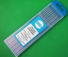 2.4mm ACDC WY20 2% Yttrium Tungsten Electrode Blue Tip Yttrium 10Pc Ozzie Seller