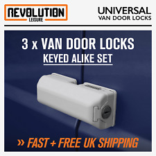 Milenco 4572 Van Security Door Lock - Triple Pack