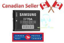 NEW Original Samsung Camera Battery BP70A EA-BP70A, EABP70A, BP-70A, BP70, IA-BP