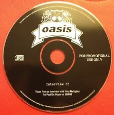 Mega Rare Oasis - Interview CD with PD Noyer 11/8/98 - UK? Promo CD