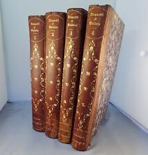 ANQUETIL et GALLOIS / HISTOIRE DE FRANCE 4 vol / 1836 BEAUVAIS