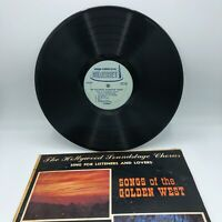The Hollywood Soundstage Chorus Songs of the Golden West/Deep South LP Vinyl VG+