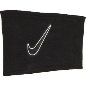 Nike Unisex Fleece Snood Neck Warmer Black/White - Junior