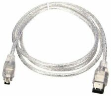4 Pin to 6 Pin Firewire IEEE 1394 Digital iLink Cable Cord for Video Camcorder