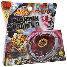 GENUINE Takara Tomy Phantom Orion B:D Beyblade BB-118 metal fury bey STARTER SET