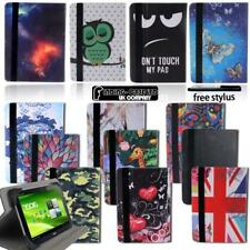 """Folio Leather Rotating Stand Cover Case For 7"""" 8"""" 10"""" Acer Iconia Tablet"""