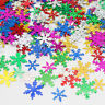 400Pcs/Bag Snowflake Shape Sequin Christmas Party DIY Materials Decorative