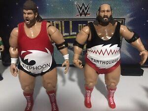 WWE Classic Superstars Earthquake Typhoon Natural Disasters figures jakks RARE!!