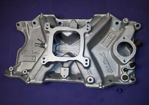 Edelbrock 2735  Torker 318 340 360 Aluminum Intake CUDA CHALLENGER MOPAR DODGE