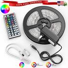 Внешний вид - 32.8 ft 65.6 ft LED Strip Lights 5050 Music Sync Bluetooth Remote Room Light Kit