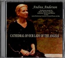 "ANDREA ANDERSON ""CATHEDRAL OF OUR LADY OF THE ANGELS"" CD 2005 euterpe sealed"