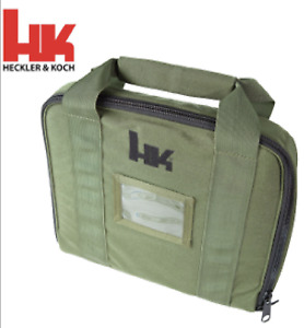 Heckler Koch Pistol Case Green Soft Special Op TACTICAL SOCOM HK Mark23 HK45 VP9