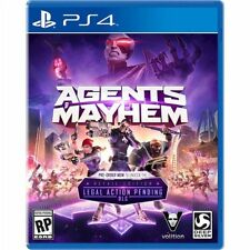 PS4 Agents of Mayhem NEW Sealed REGION FREE USA Plays on all consoles!