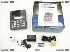 Easacom Tc-1200pp Phone Counter Printer Records + Prints Call ID Information