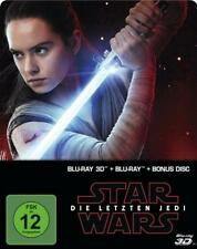 Star Wars: Episode VIII - Die letzten Jedi - Steelbook  (+ Blu-ray 2D + Bonus-Bl
