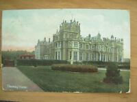 VINTAGE POSTCARD THORESBY HOUSE - NOTTINGHAMSHIRE - 1906