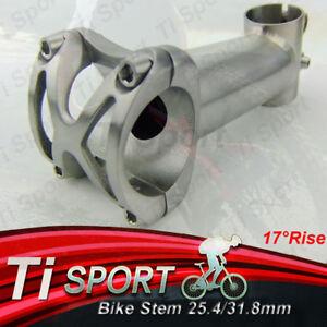 "17Degree Titanium Stem 25.4/31.8mm/1 1/8""-For Road/Mountain Bike/XC/MTB/FR/DH"