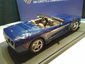 CHEVROLET CORVETTE 2004 COMMEMORATIVE EDITION AUTOart 1/18 LAST ONE IN STOCK