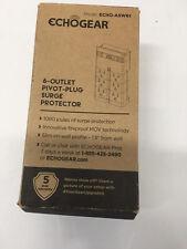 Echogear 6-outlet Pivot-plug Surge Protector Model Eco Asw61