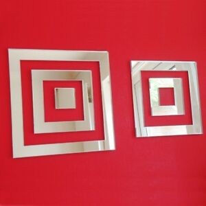 Square Infinity Mirrors (Shatterproof Acrylic mirrors, Several Sizes Available)