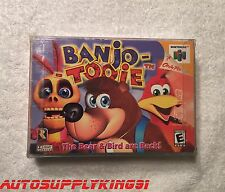 BANJO TOOIE CIB Nintendo 64 N64 2000 Complete Game Manual Rare Mint 100% Tested