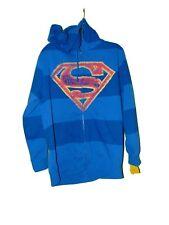 Superman Hooded Jacket Size Large Nwt Dc Comics