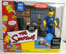 World of Simpsons Police Station Environment with Officer Eddie Wos Exclusive