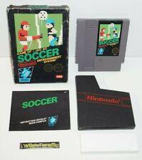 ++ jeu nintendo NES soccer version ASD en boite ++