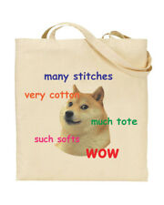 Doge Meme - Many Stitches - Much Tote - Internet - Funny Present - Tote Bag