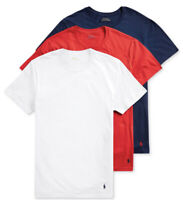 NWT POLO Ralph Lauren Men's Sz XL USA Classic Fit 3 Pack Cotton Crew T-shirts