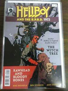 HELLBOY AND THE B.P.R.D. [THE WITCH TREE] NM PA15-413
