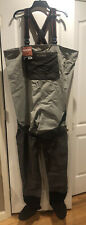 Simms Freestone Waders Size XXL 2X Large Stocking Foot Boots Gravel Guard USA