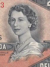 New listing 1954 Bank Of Canada Qeii $2 *Devils Face* ( Ef )