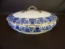 Antique Burroughs & Mountford Covered Serving Dish Honiton