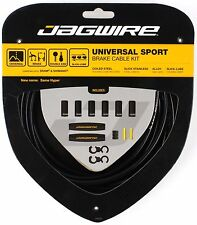 Jagwire Universal Sport Bike Brake Cable & Housing Kit fits Shimano SRAM - Black